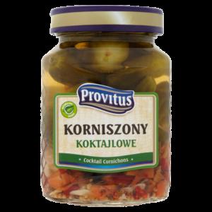 Provitus Korniszony koktajlowe 280 ml