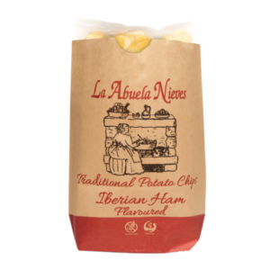 La Abuela Nieves - Tradycyjne Hiszpańskie Chipsy o smaku szynki iberyjskiej
