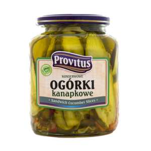 Provitus Ogórki kanapkowe 720ml