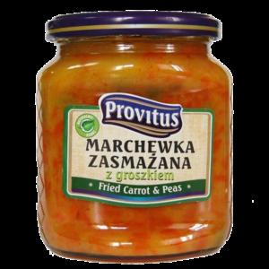 Marchewka zasmażana z groszkiem | Provitus
