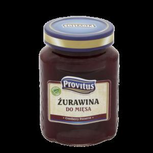 Żurawina do mięsa 280ml | Provitus