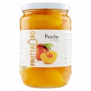 Brzoskwinie w syropie 680g | Frutta Oro