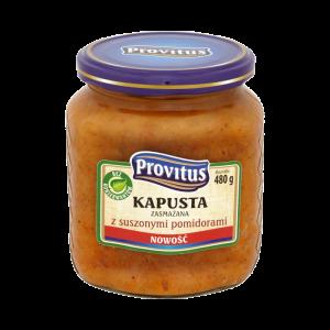 Kapusta zasmażana z suszonymi pomidorami | Provitus
